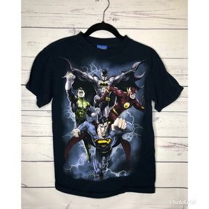 🔥 Vintage Justice League tee small